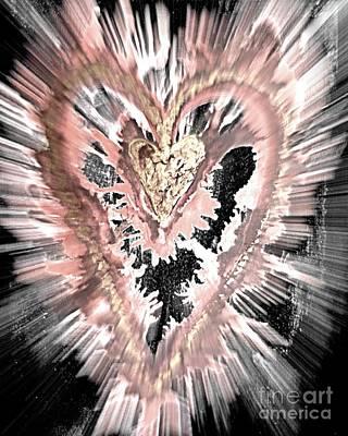 Caring Heart Art #4 Art Print