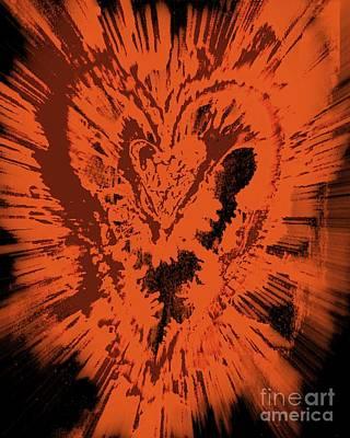 Caring Heart Art #5 Art Print