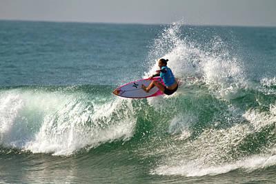 Photograph - Carissa Moore by Waterdancer