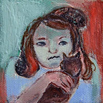 Painting - Caritina by Ana Gonzalez