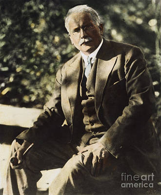 Photograph - Carl G. Jung  by Granger