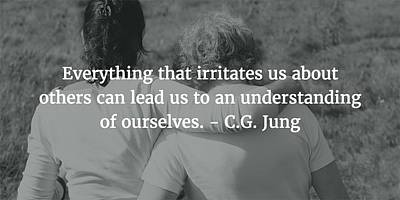 Photograph - Carl Jung Quote by Matt Create