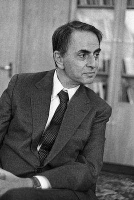 Carl Sagan Photograph - Carl Sagan, Us Astronomer by Ria Novosti