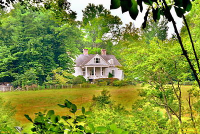 Photograph - Carl Sandburg Historic Home by Lisa Wooten