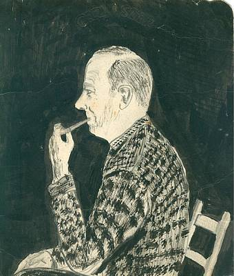 Photograph - Carl Sliger As Drawn By Tommy Kirby by Nick Kirby