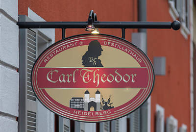 Granger Royalty Free Images - Carl Theodor Restaurant and Distillathaus Royalty-Free Image by Teresa Mucha