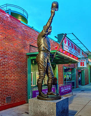 Photograph - Carl Yastrzemski 005 by Jeff Stallard