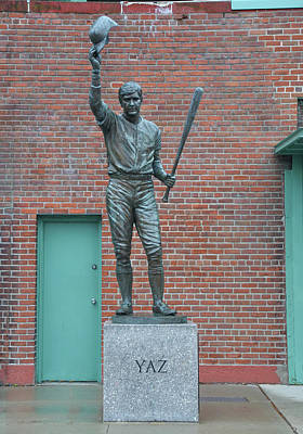 Fenway Park Photograph - Carl Yastrzemski - Fenway Park by Bill Cannon