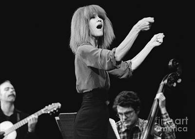 Musicians Photograph - Carla Bley Driving The Guys by Philippe Taka