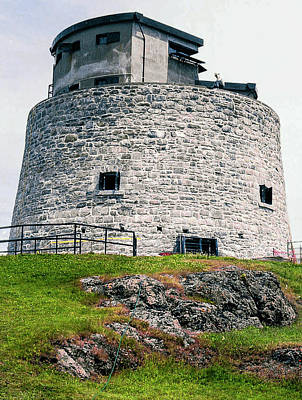 Photograph - Carleton Martello Tower by Steven Richman