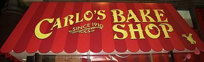 Photograph - Carlo's Bake Shop by Karen Silvestri