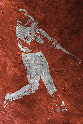 Mlb Painting - Carlos Correa Houston Astros Art by Joe Hamilton