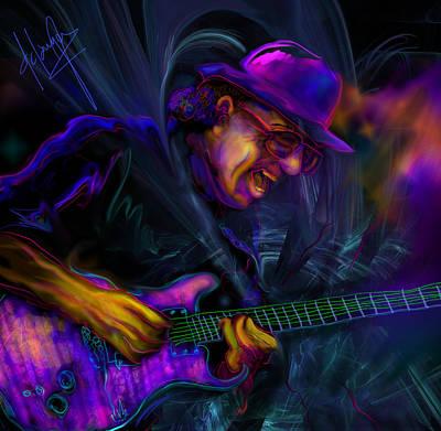 Carlos Santana Original by DC Langer