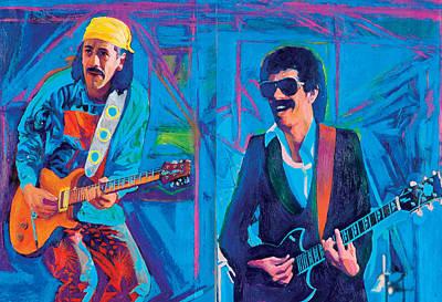 Carlos Santana Painting - Carlos Santana by Martin Cohen