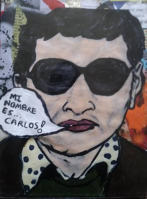 Mixed Media - Carlos The Jackal by Dele Akerejah