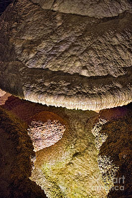 Photograph - Carlsbad Cavern Formation by David Arment