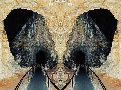Photograph - Carlsbad Caverns New Mexico Mirror by Kyle Hanson