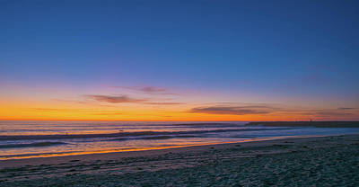 Photograph - Carlsbad Jetty Sunset by Bruce Pritchett