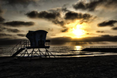 Photograph - Carlsbad Sunset by Christopher Purcell