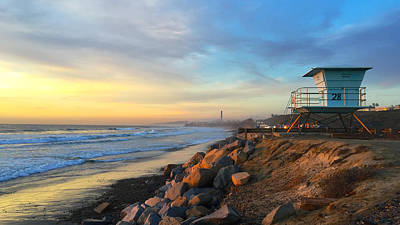 Photograph - Carlsbad Winter by Jan Cipolla