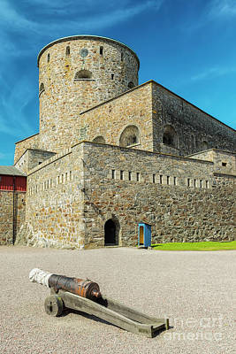 Photograph - Carlsten Fortress In Sweden by Antony McAulay