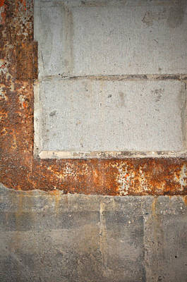 Carlton 14 - Abstract Concrete Wall Art Print