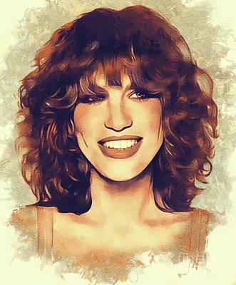 Staff Picks Judy Bernier - Carly Simon, Music Legend by Esoterica Art Agency