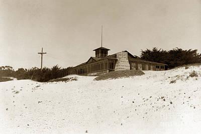 Photograph - Carmel Bathhouse On Carmel Beach Built In 1889 by California Views Mr Pat Hathaway Archives
