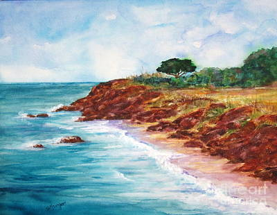 Painting - Carmel Bay by Suzanne Krueger