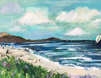 Painting - Carmel Beach by Mindy Carpenter