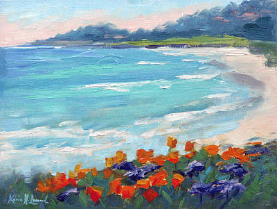 Carmel Beach Spring Original