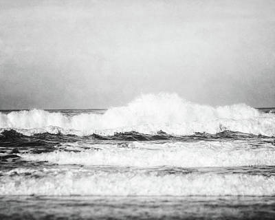 Photograph - Carmel By The Sea In Black And White by Lisa Russo