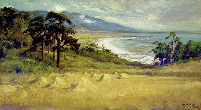Carmel By The Sea Painting - Carmel By The Sea by William Keith
