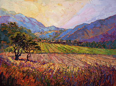 Painting - Carmel Light by Erin Hanson