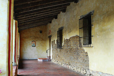 Photograph - Carmel Mission Architecture by Renee Hong