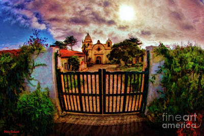 Photograph - Carmel Mission  by Blake Richards