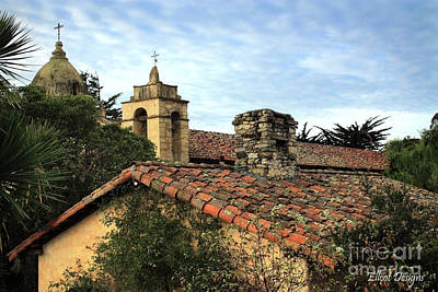 Photograph - Carmel Mission by Ellen Cotton