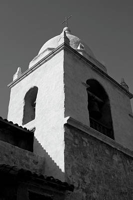 Photograph - Carmel Mission I Bw by David Gordon