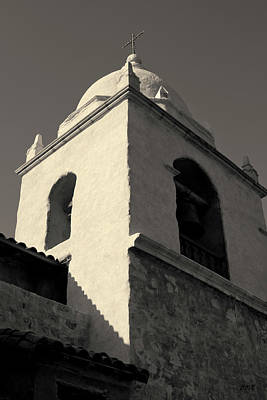 Photograph - Carmel Mission I Toned by David Gordon