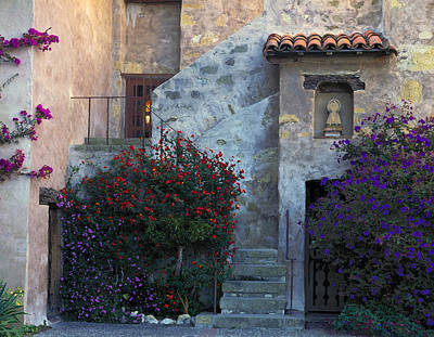 Photograph - Carmel Mission by John Farley