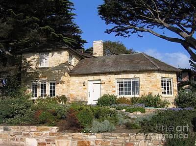 Photograph - Carmel Stone House by James B Toy