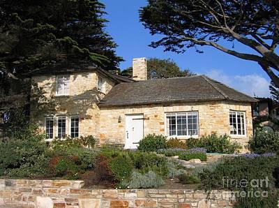 Photograph - Carmel Stone House by James B Toy