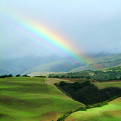Photograph - Carmel Valley Rainbow by Charlene Mitchell