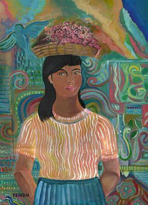 Painting - Carmelita by John Keaton