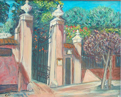 Painting - Carmelite Monastery by Carolyn Donnell