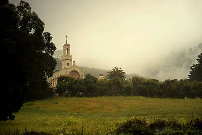 Photograph - Carmelite Monastery Fog by Joyce Dickens