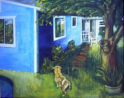 Painting - Carmel's Back Yard by Kathleen Barnes