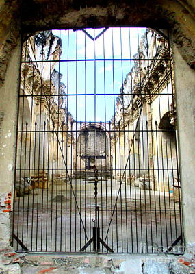 Photograph - Carmen Convent 7 by Randall Weidner