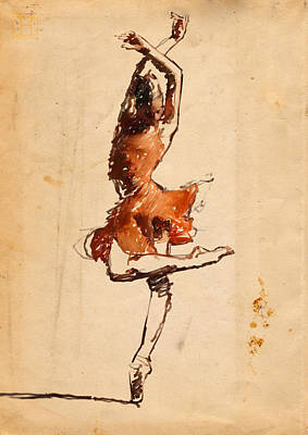 Carmen Art Print by H James Hoff