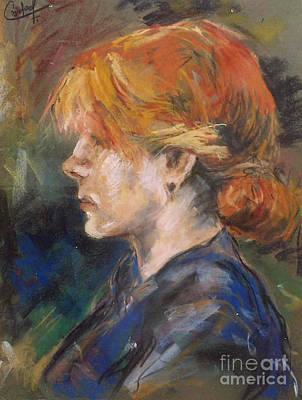 Carmen Of Lautrec Art Print by Debora Cardaci